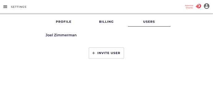 4. Settings Invite User