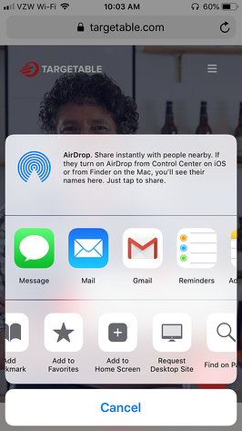 Step3-ios Add to Home Screen